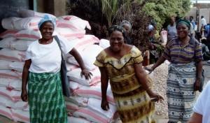 Frauen in Mandevu