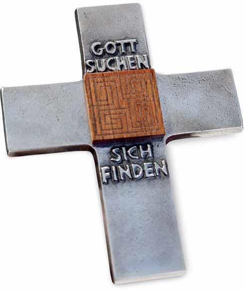 Kreuz Gott suchen sich finden