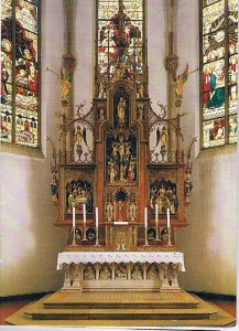 Hochaltar in St. Ludger