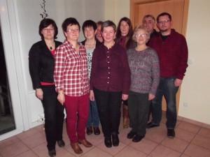Chorvorstand Ulrike Sievers und Team