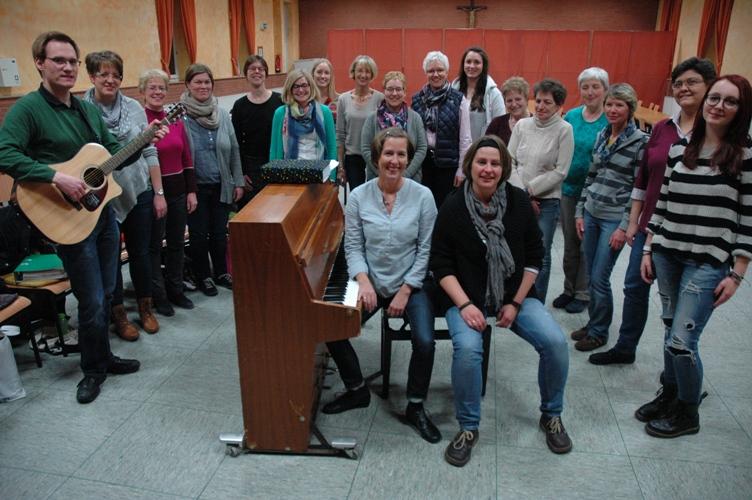 Jugendchor und Frauenchor  St. Josef haben sich zum neuen Chor Taktwechsel vereint