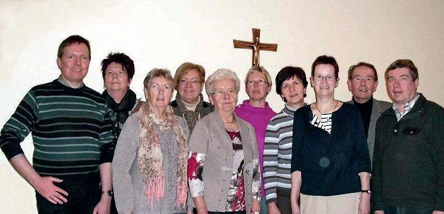 einige Gesichter der Pfarrcaritasgruppen