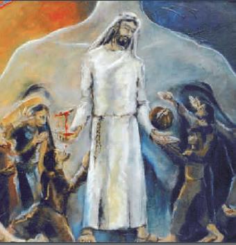 Jesus gibt sich hin