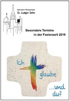Deckblatt Fastenflyer 2016